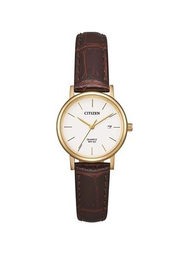 Citizen Eu6092-08A Kadın Kol Saati Altın
